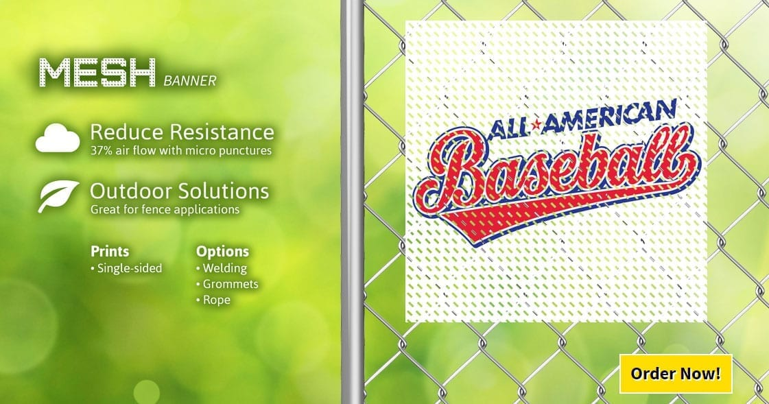 Mesh Banner Signs